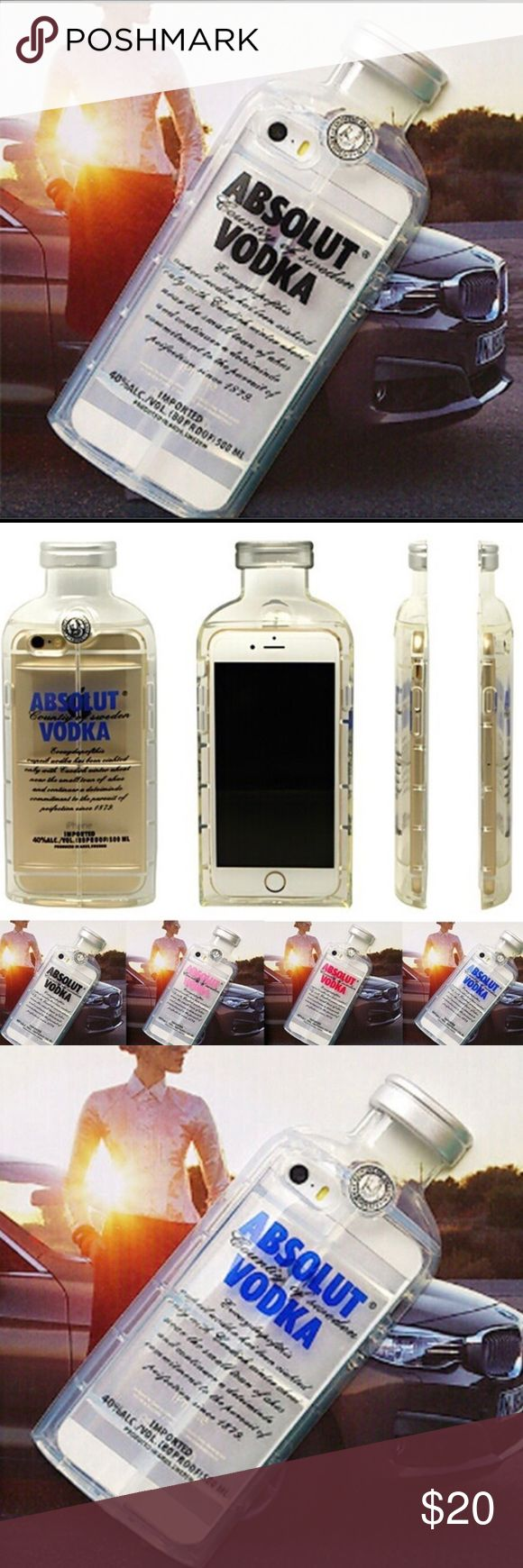 "iPhone 6/6S Absolut Vodka Cell Phone Case Coming Soon – Once Available for Purchase, Status Will Be Changed To ""For Sale"" and ""Likers"" Will Be Notified - Offers Not Accepted On Most Boutique Items As I Price As Low As I Can Go BUT Boutique Items Are Eligible for My Bundle Discount - Thank You!  Silicone Bumper Case ~ Available for iPhone 6 and iPhone 6S ~ 4 Different Colors ~ Boutique Accessories Phone Cases"