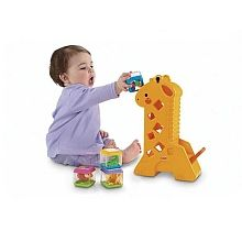 Fisher Price - Girafe sonore à cubes - Seulement chez Toysrus !