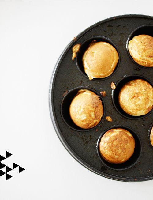 Æbleskiver (Danish pancakes) from @Jennifer Hagler The House That Lars Built.: My Scandinavian Christmas day 21