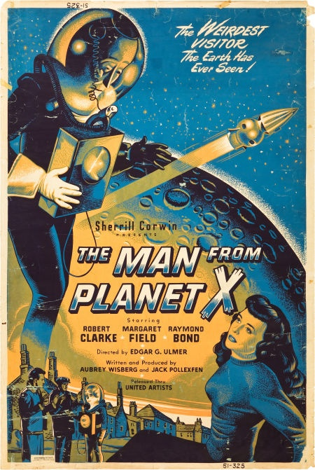 Movie PostersScience Fiction, The Man from X