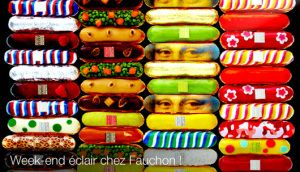 Eclairs are have a seriously good chance of stealing the cupcake crown for most cute food award with these cream filled works of art from Paris. You can get them from Fauchon (uber posh French Stor…