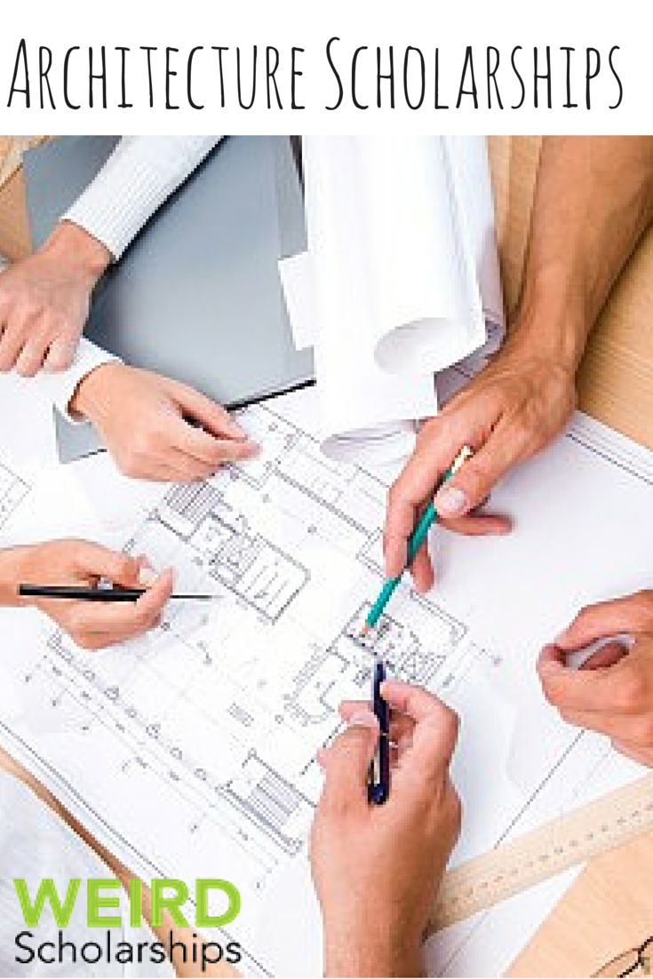Students Who Are Planning A Career In Architecture Have Many Options To Help Them Fund Their