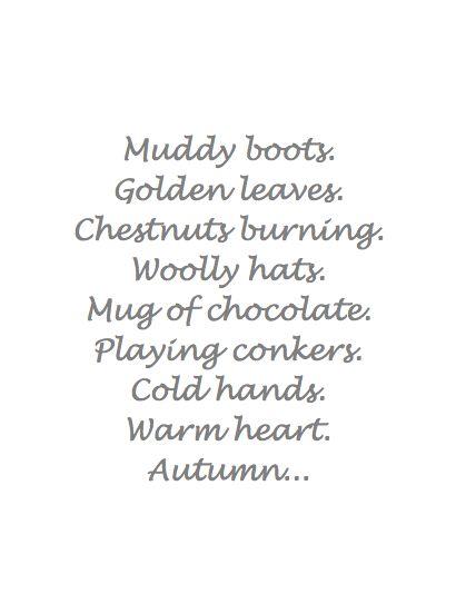 Looks like a good #autumn to do list to us!