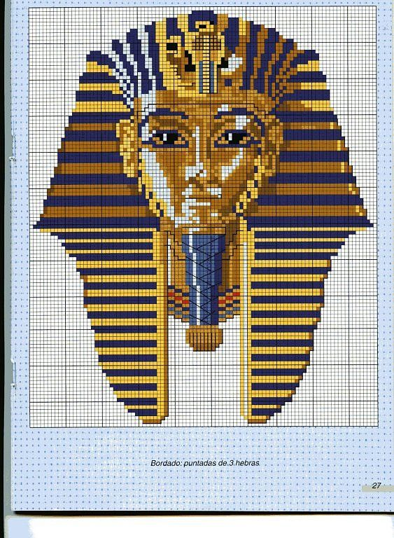 Egyptian cross stitch