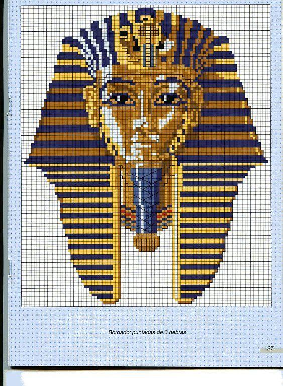 Egyptian cross stitch