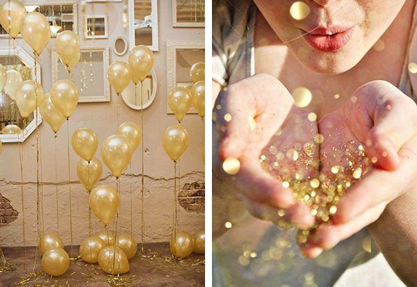 Ballons / Paillettes