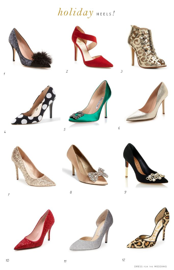 Holiday Heels: Shoes for Holiday Parties!