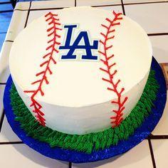 Dodgers cake, skip the grass