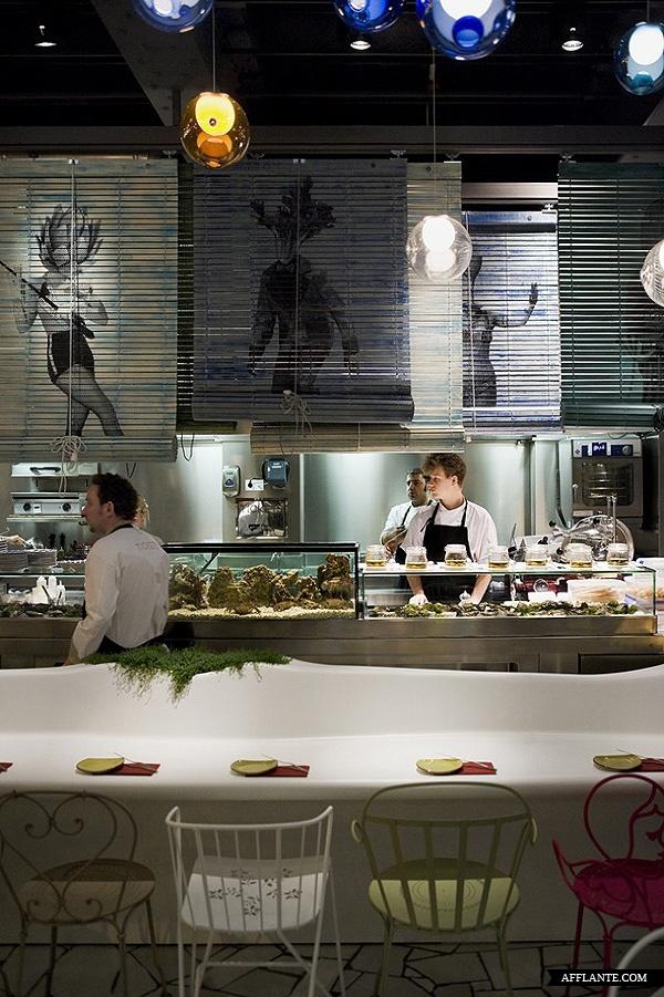 Tickets Bar in Barcelona by El Equipo Creativo