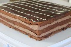 Tummasuklaatäyte: 2 dl kermaa 200 g maustamatonta tuorejuustoa 130 g tummaa suklaata Sulata ensin (mikrossa tai vesihauteessa) suklaa j...