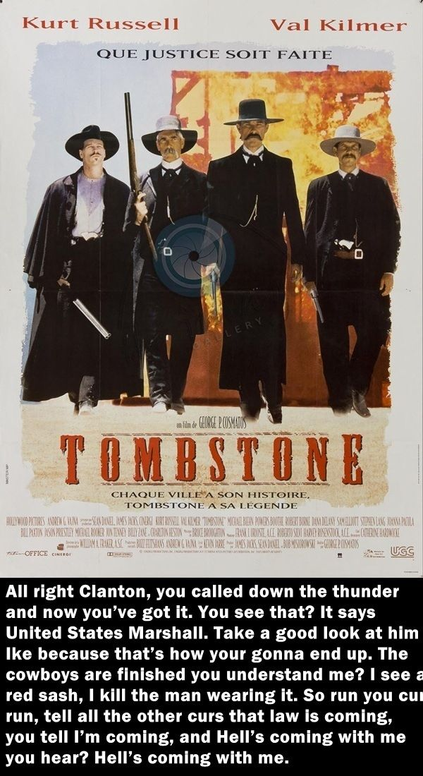Tombstone Movie Quotes | 30 Most Bad-Ass Action Movie Quotes of All Time | Full Punch