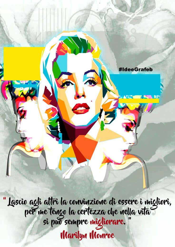 Vedi il mio progetto @Behance: \u201cMarilyn Monroe, icona e simbolo di bellezza\u201d https://www.behance.net/gallery/52251741/Marilyn-Monroe-icona-e-simbolo-di-bellezza