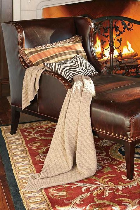 A welcoming addition to your den or hearth room, the Bristol Chaise features a handsome winged design and generously sized and plush cushion that makes for the perfect place to sit and enjoy a good book.
