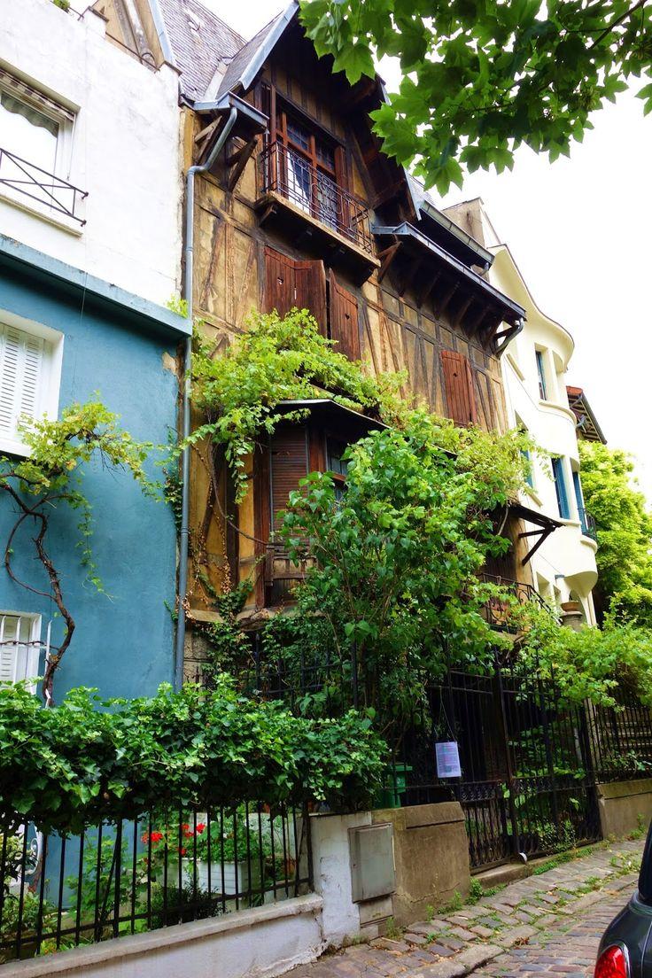 L'insolite square Montsouris, verdoyante allée résidentielle - Paris 14eme