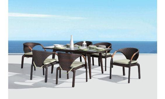 Espectacular comedor de terraza o jard n de majestic for Comedor para terraza