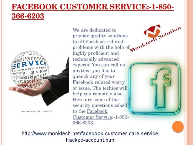 What is Facebook customer service 1-850-366-6203? Facebook customer service is the service which is very useful for the Facebook users because they can eliminate all their Facebook issues within a minute. So, if you are one of them who are searching for the reliable help then you need to move your fingers on your Smartphone keypad and make a call at 1-850-366-6203 . More info:- http://www.monktech.net/facebook-customer-care-service-hacked-account.html or…