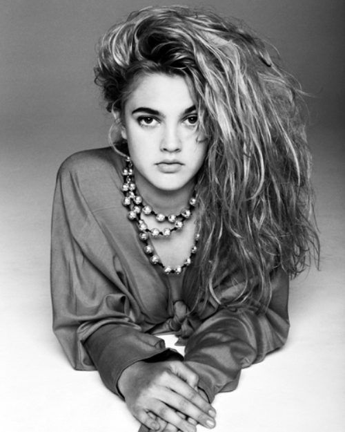 Drew Barrymore: Style, Amazing Hair, Big Hair, Celebrity Galleries, Young Drew, Drew Barrymore, People, 90S Drew, 90S Hair
