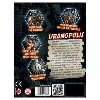Portal Games Uranopolis Neuroshima Hex 3.0 Game