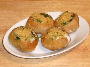 Raj Kachori - Manjula's Kitchen - Indian Vegetarian Recipes