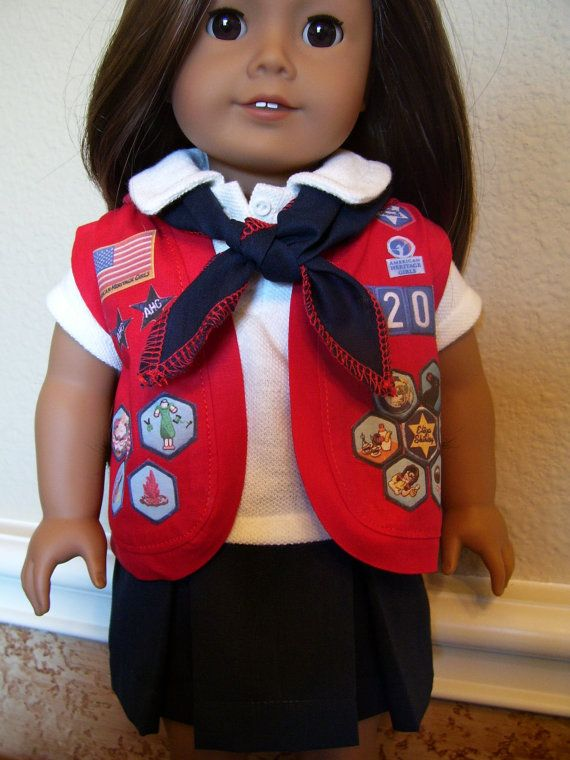 18 Inch Doll Clothes - American Heritage Girls Scout Uniform