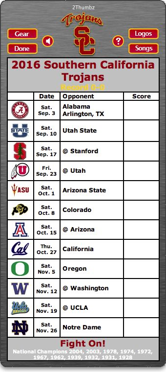 BACK OF MAC APP - 2016 USC Trojans Football Schedule App for Mac OS X - Fight On! -   National Champions 2004, 2003, 1978, 1974, 1972, 1967, 1962, 1939, 1932, 1931, 1928   http://2thumbzmac.com/teamPages/USC_Trojans.htm