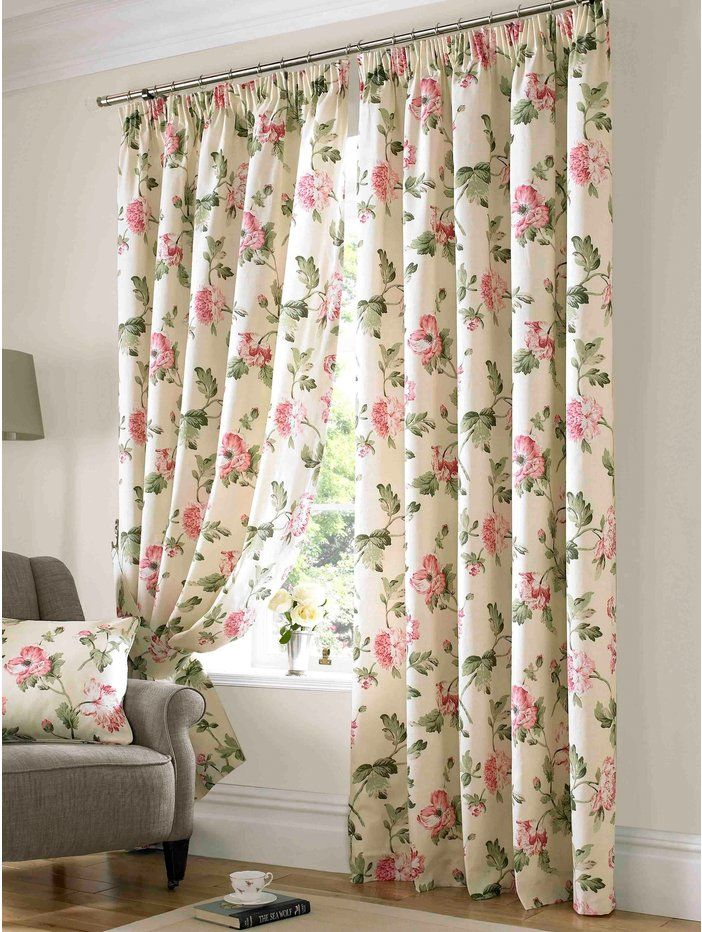 m homeware apsley floral curtain