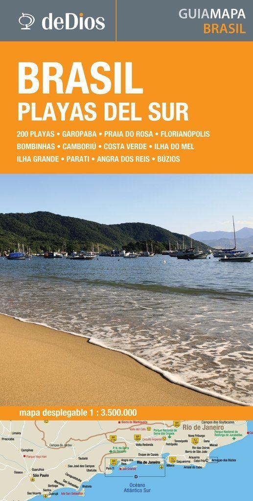 Guía Mapa de Brasil Playas del Sur