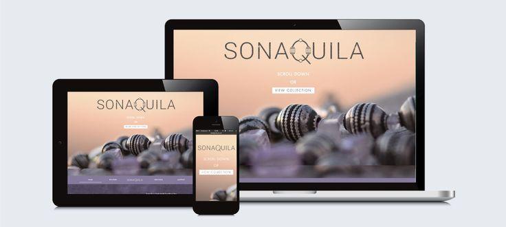 Sonaquila: Responsive Website Design, Development and Management by Electrik Design Agency www.electrik.co.za
