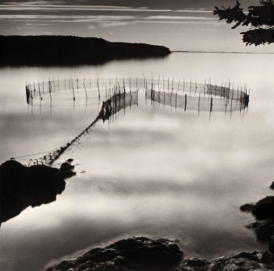 Grand Manan NB | Fishing Weir At Night by Lisa Tyson Ennis