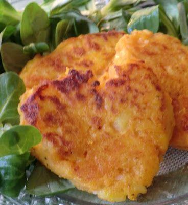 Ma petite cuisine gourmande sans gluten ni lactose: Galettes de patate douce et de pomme de terre
