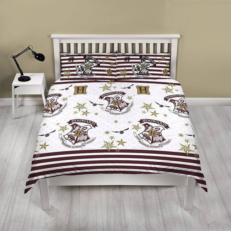 Harry Potter Double Duvet Cover Set £19.50 Free UK Delivery