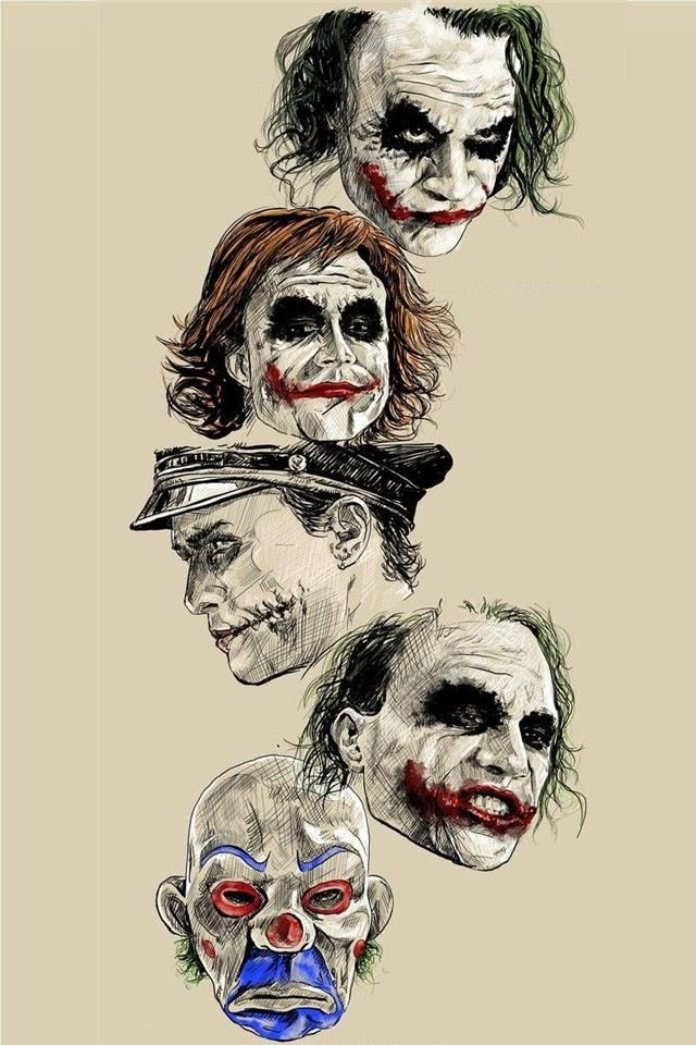Faces of Heath ledger.. Joker. ...#{TRL}   http://ebay.to/1MkkL4b