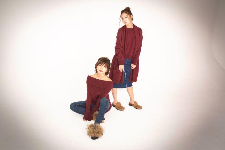 この秋真似したい♡AAA宇野実彩子&伊藤千晃が魅せる大人っぽ双子コーデ|MERY [メリー]