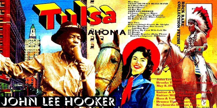 JOHN LEE HOOKER - Brooks Theater Tulsa Oklahoma 8 May 1984 ARTISTIC COVER Of DANILO JANS ART Dal sito ROCK RARE COLLECTION FETISH rockrarecollectio... e DANILO JANS ART danilojansart.blo... Works of Danilo JANS executed in mixed media . Visionary artist and surrealist Italian , creates his works thanks to a connection with parallel universes. Danilo Jans was born in 1957 and lives in Pont Saint Martin in the Aosta Valley ( Italy )