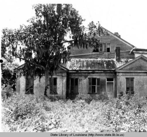 Woodlawn Plantation in Assumption Parish in 1935 :: Louisiana Works Progress Administration (WPA)