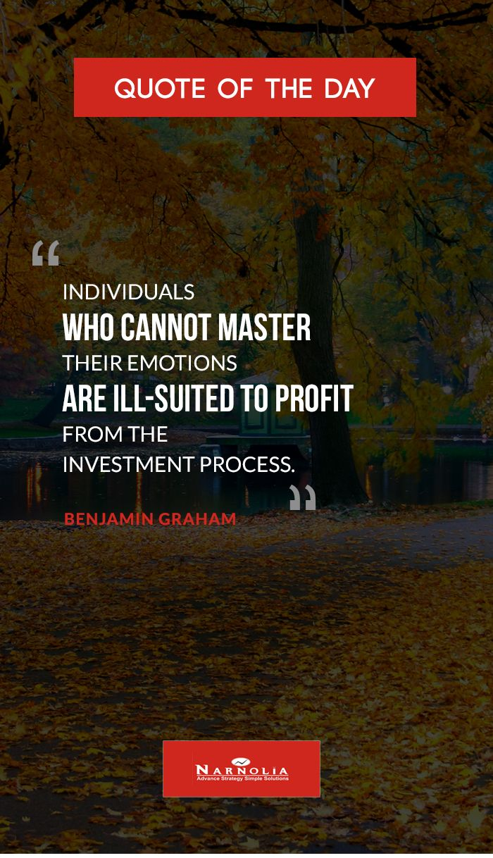 quote of the  u0026quot individuals who cannot master their emotions