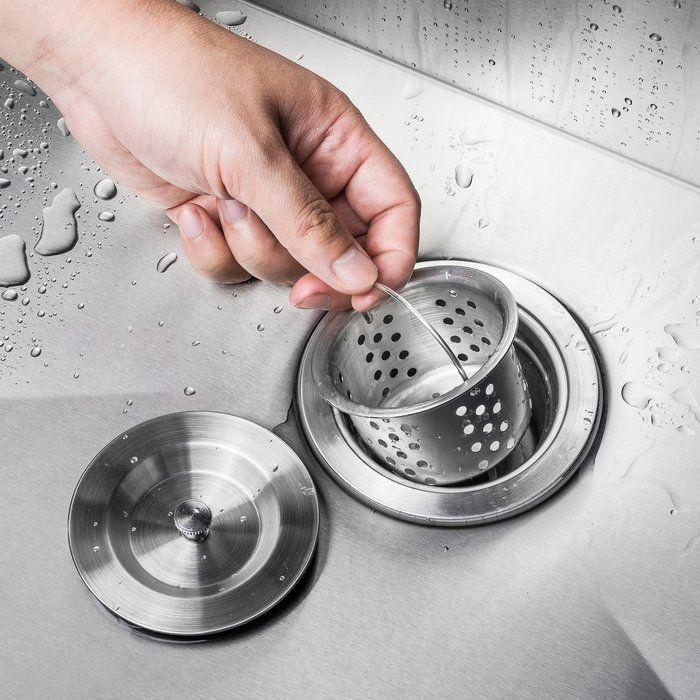 32 X 22 Drop In Kitchen Sink With Basket Strainer Drop In Kitchen Sink Undermount Kitchen Sinks Kitchen Sink