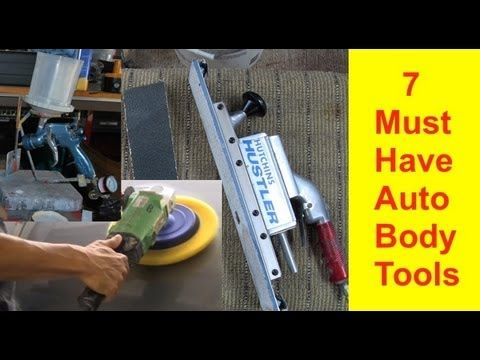 7 Must Have Auto Body Tools To Get Started in Auto Body Repair http://www.learnautobodyandpaint.com/