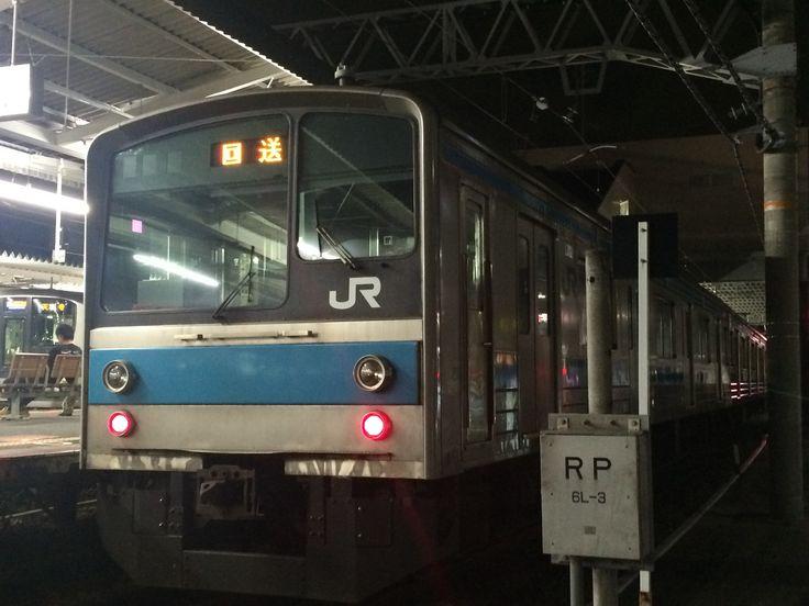 JR西日本 205系1000番台 @和泉府中駅