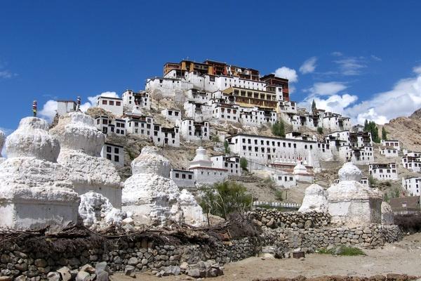 Thiksey Monastery, Ladakh India #NomadsSecrets