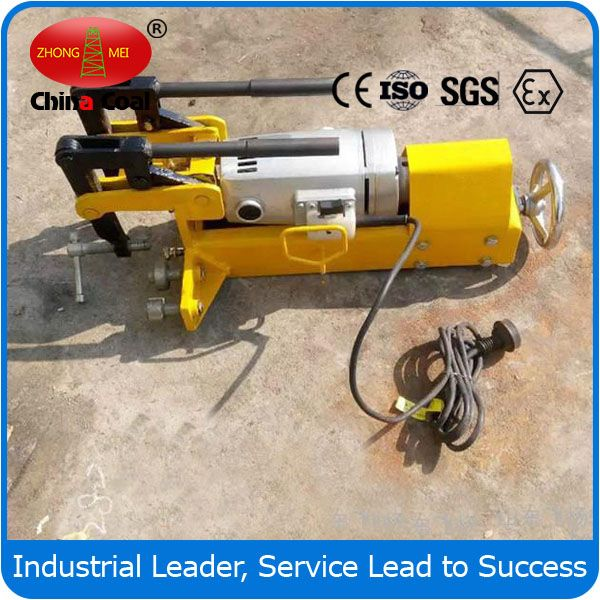 electric / internal combustion rail drilling machine