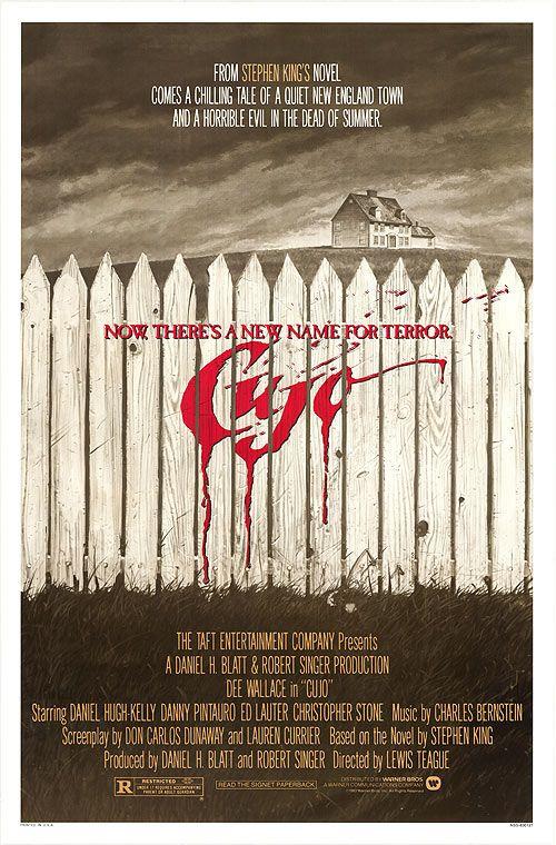 Cujo Stephen King Horror Movie Poster Fan Art