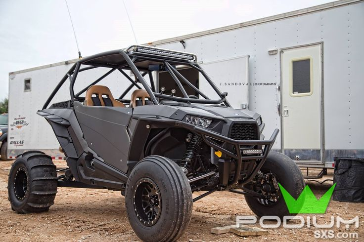 "Polaris RZR XP 1000 Roll Cage F-18B: 4"" lower than stock - Race-inspired, light-weight and indestructible design.  #1SxS #PodiumSxS.com #Polaris #XP #XP1000 #XP1K #RZR #ABF"