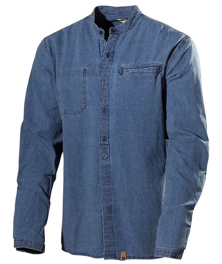 L.Brador Skjorte 6003B, blå