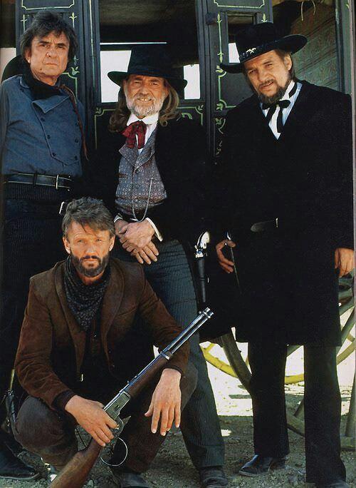 Highway men-Johnny Cash; Willie Nelson; Waylon Jennings & Kris Kristofferson