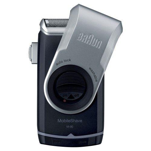 Braun Mobile Shaver - M90, Black