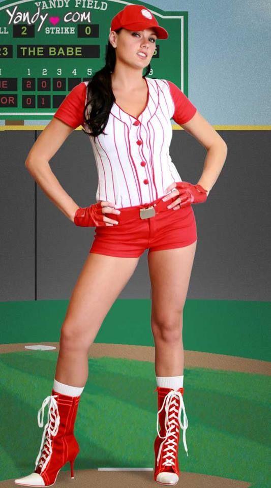 127 Best Images About Sexy Cheerleaders On Pinterest  sc 1 st  Meningrey & Diy Baseball Costume - Meningrey
