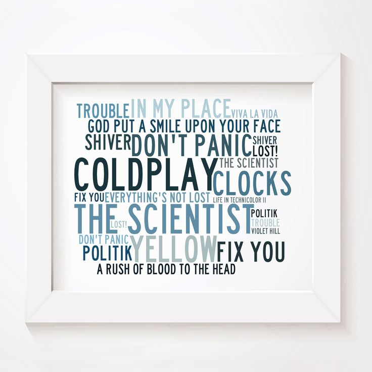 The 25+ best Coldplay poster ideas on Pinterest | Coldplay ...