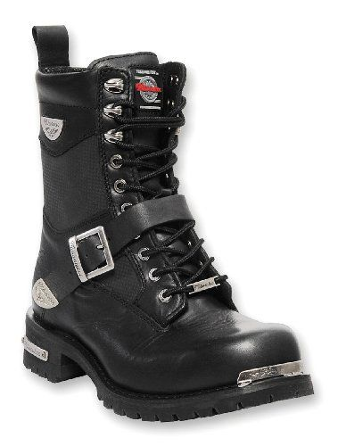 Special Offers - Milwaukee Motorcycle Clothing Company Renegade Leather Mens Motorcycle Boots (Black Size 8.5D) - In stock & Free Shipping. You can save more money! Check It (November 11 2016 at 01:31AM) >> http://motorcyclejacketusa.net/milwaukee-motorcycle-clothing-company-renegade-leather-mens-motorcycle-boots-black-size-8-5d/