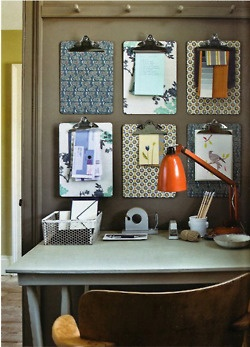 cute organizing idea for home office